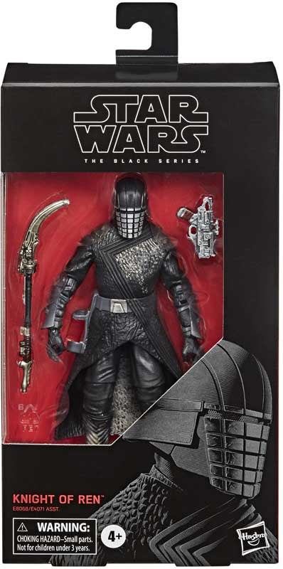 "STAR WARS THE BLACK SERIES EPISODE 9 KNIGHT OF REN 6"" ACTION FIGURE"