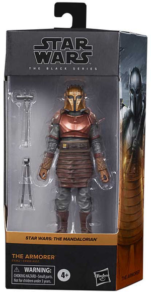 "STAR WARS THE MANDALORIAN BLACK SERIES THE ARMORER 6"" ACTION FIGURE"