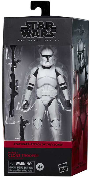 "STAR WARS THE BLACK SERIES CLONE TROOPER 6"" ACTION FIGURE"