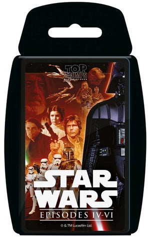 TOP TRUMPS STAR WARS EPISDOES IV-VI CARD GAME