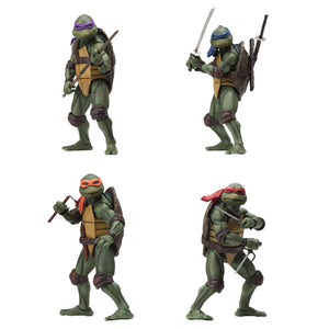 "TEENAGE MUTANT NINJA TURTLES 1990 MOVIE SET OF 4 ACTION FIGURES ""PRE-ORDER SEP 2020 APPROX"""