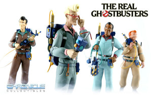 "THE REAL GHOSTBUSTERS SET OF 4 STATUES ""PRE ORDER Q2 2020"""