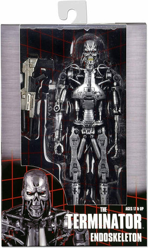 "THE TERMINATOR 7"" T-800 ENDOSKELETON ACTION FIGURE"