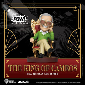 "Stan Lee Mini Egg Attack Action Figure Stan Lee The King of Cameos 8 cm ""Pre-Order July 2021 approx"""