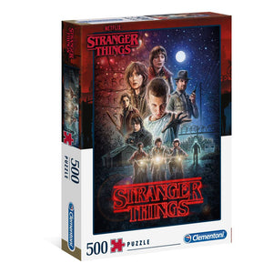 STRANGER THINGS SEASON 1 JIGSAW PUZZLE (500 PIECES)