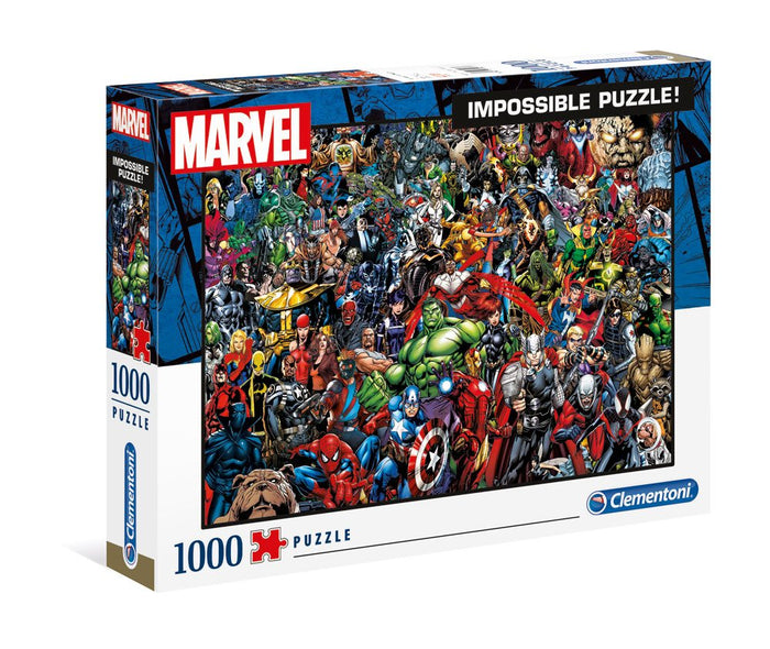 MARVEL IMPOSSIBLE PUZZLE CHARACTERS JIGSAW (1000 PIECES)