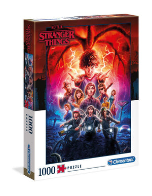 STRANGER THINGS SEASON 2 JIGSAW PUZZLE (1000 PIECES)