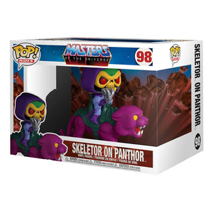 MASTERS OF THE UNIVERSE POP! RIDES SKELETOR ON PANTHOR 18 CM VINYL FIGURE