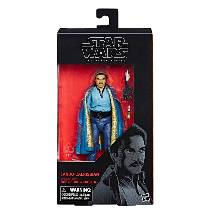 STAR WARS THE BLACK SERIES 39 LANDO CALRISSIAN SIX INCH ACTION FIGURE
