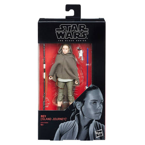 Star Wars The Black Series 58 Rey (Island Journey) Action Figure