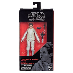 STAR WARS THE BLACK SERIES 75 PRINCESS LEIA ORGANA (HOTH) SIX INCH ACTION FIGURE