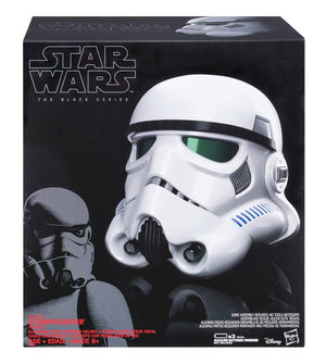 STAR WARS THE BLACK SERIES IMPERIAL STORMTROOPER ELECTRONIC HELMET