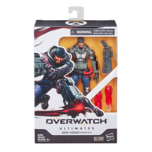 "OVERWATCH ULTIMATES REAPER BLACKWATCH REYES 6"" ACTION FIGURE"