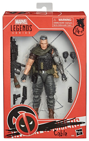 "MARVEL LEGENDS DEADPOOL CABLE 15CM ACTION FIGURE ""PRE-ORDER OCT 2020 APPROX"""