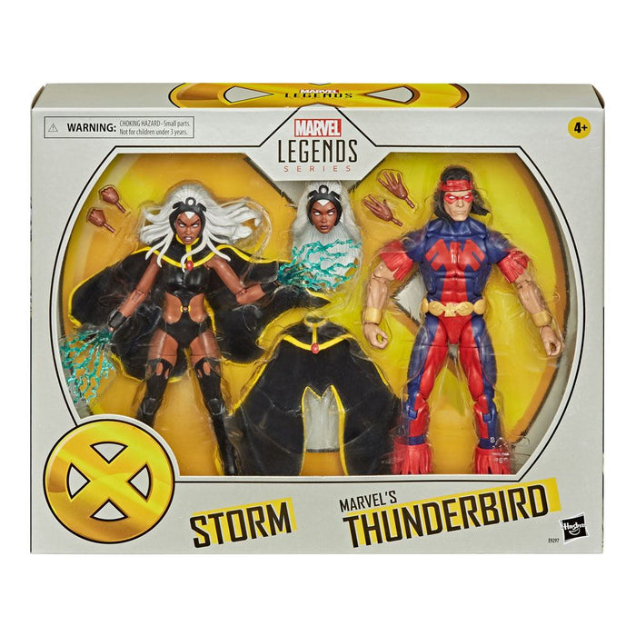 "MARVEL LEGENDS X-MEN STORM & THUNDERBIRD 15CM ACTION FIGURE 2 PACK ""PRE-ORDER OCT 2020 APPROX"""