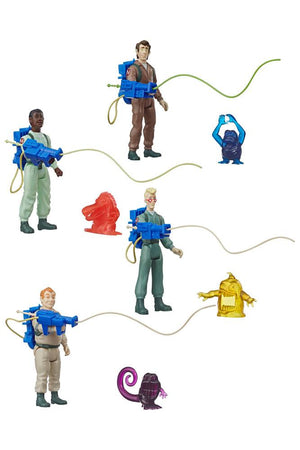 REAL GHOSTBUSTERS KENNER CLASSICS SET OF 4 GHOSTBUSTERS