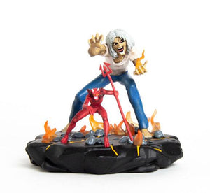 IRON MAIDEN LEGACY OF THE BEAST NUMBER OF THE BEAST EDDIE 10CM PVC STATUE