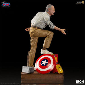 "MARVEL DELUXE ART SCALE STATUE 1/10 STAN LEE ""PRE-ORDER Q3 2021 APPROX"""