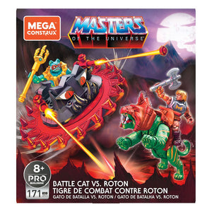 "MASTERS OF THE UNIVERSE MEGA CONSTRUX BATTLE CAT VS ROTON ""PRE-ORDER Q4 2020 APPROX"""