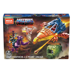 "MASTERS OF THE UNIVERSE MEGA CONSTRUX PANTHOR AT POINT DREAD ""PRE-ORDER Q4 2020 APPROX"""