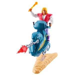 "MASTERS OF THE UNIVERSE ORIGINS PRINCE ADAM AND SKY SLED ""PRE-ORDER DEC/JAN APPROX"""