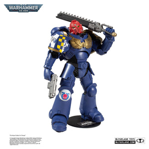 "WARHAMMER 40K SPACE MARINE 18CM ACTION FIGURE ""PRE-ORDER APR/MAY 2021 APPROX"""