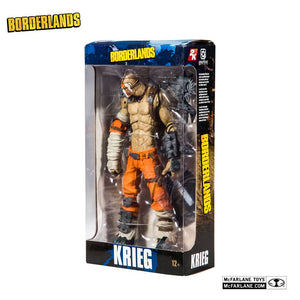 BORDERLANDS KRIEG 18CM ACTION FIGURE