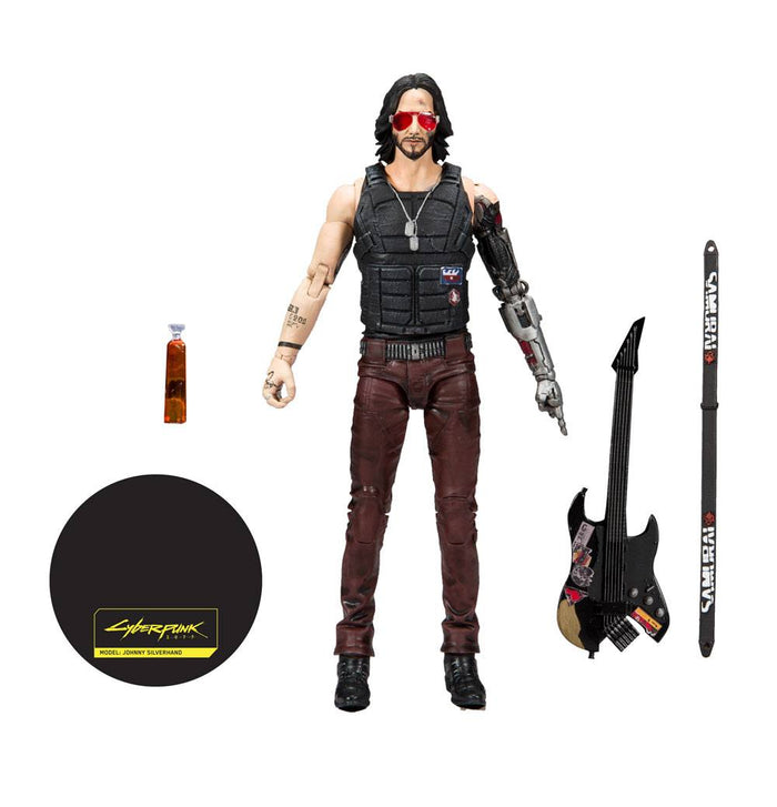 CYBERPUNK 2077 JOHNNY SILVERHAND 18CM ACTION FIGURE