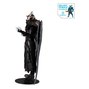 "DC MULTIVERSE BATMAN WHO LAUGHS (HAWKMAN #18) BUILD A FIGURE (MERCILESS) 18 CM ACTION FIGURE ""PRE-ORDER OCT 2020 APPROX"""