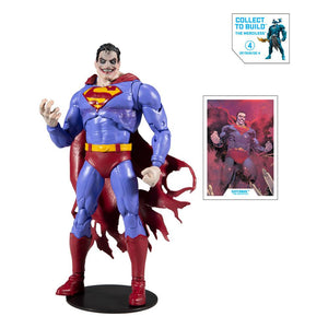 DC MULTIVERSE SUPERMAN INFECTED BUILD A FIGURE (MERCILESS) 18 CM ACTION FIGURE