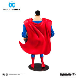 DC MULTIVERSE BATMAN: THE ANIMATED SERIES SUPERMAN 18CM ACTION FIGURE