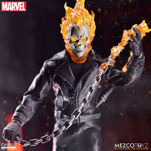 "ONE:12 COLLECTIVE GHOST RIDER 1:12 SCALE DELUXE ACTION FIGURE ""PRE-ORDER AUG/SEP 2021 APPROX"""