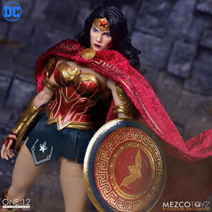 "ONE:12 COLLECTIVE DC COMICS WONDER WOMAN 1/12 SCALE ACTION FIGURE ""PRE-ORDER Q2 2020 APPROX"""