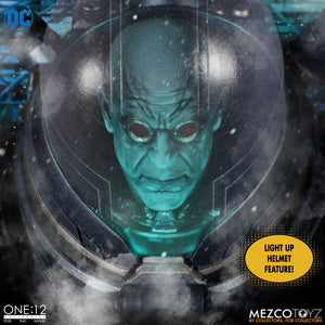"ONE:12 COLLECTIVE DC COMICS MR. FREEZE DELUXE 17CM ACTION FIGURE ""PRE-ORDER DEC 2020 APPROX"""