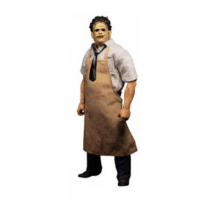 "ONE:12 COLLECTIVE TEXAS CHAINSAW MASSACRE LEATHERFACE 1:12 SCALE ACTION FIGURE ""PRE-ORDER AUG 2021 APPROX"""