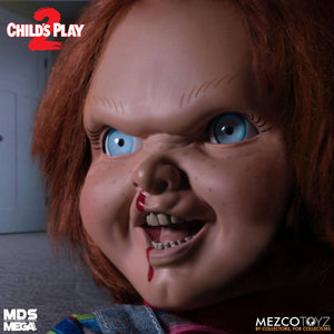 "CHILDS PLAY 2 DESIGNER SERIES TALKING MENACING CHUCKY 15"" FIGURE ""PRE-ORDER APR 2021 APPROX"""