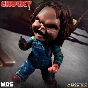 CHILDS PLAY 3 MEZCO DESIGNER SERIES DELUXE CHUCKY FIGURE