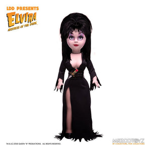"LIVING DEAD DOLLS PRESENTS ELVIRA MISTRESS OF THE DARK ""PRE-ORDER AUG 2021 APPROX"""