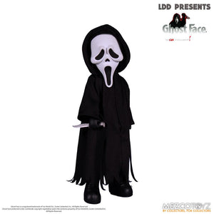 "LIVING DEAD DOLLS PRESENTS SCREAM GHOST FACE DOLL ""PRE-ORDER SEP/OCT 2020 APPROX"""