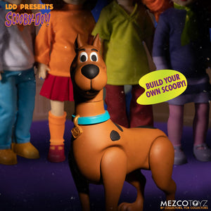 "LIVING DEAD DOLLS PRESENTS SCOOBY-DOO & MYSTERY INC BUILD A FIGURE FULL SET ""PRE-ORDER Q1 2021 APPROX"""