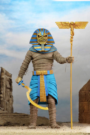 "IRON MAIDEN EDDIE PHARAOH ACTION FIGURE (POWERSLAVE) ""PRE ORDER Q3 2020 APPROX"""