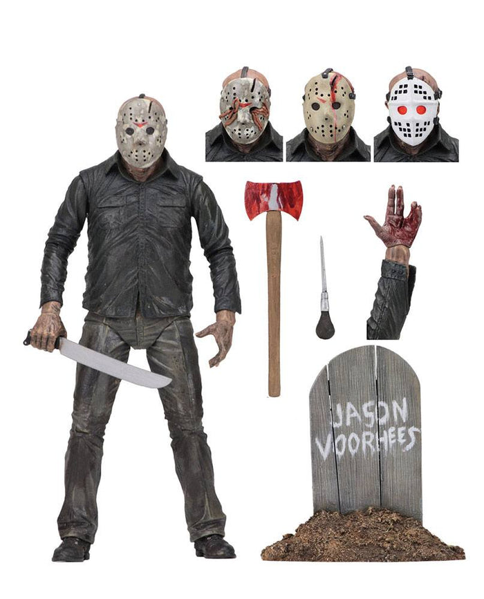 FRIDAY THE 13TH PART 5 JASON VOORHEES ULTIMATE ACTION FIGURE