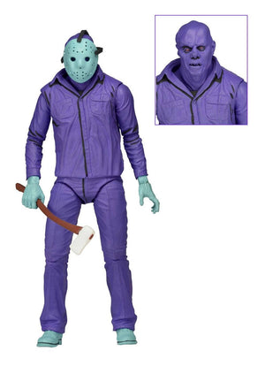 FRIDAY THE 13TH JASON VOORHEES CLASSIC VIDEO GAME THEME MUSIC EDITION ACTION FIGURE