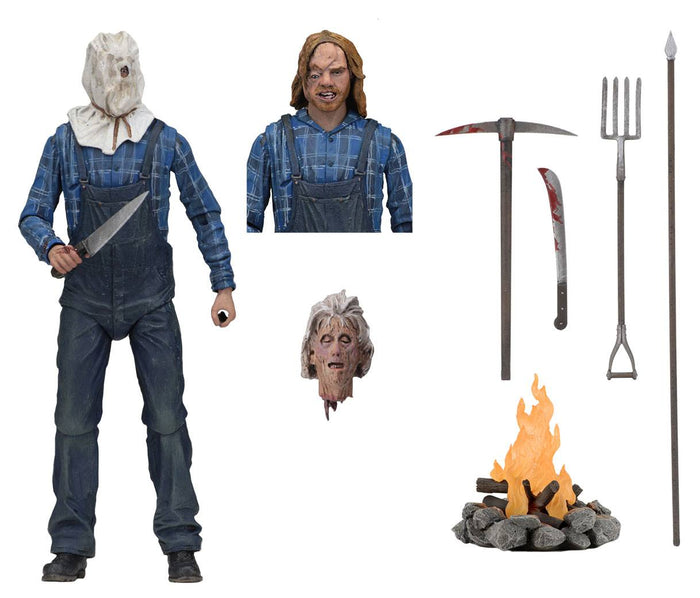 FRIDAY THE 13TH PART 2 JASON VOORHEES ULTIMATE ACTION FIGURE