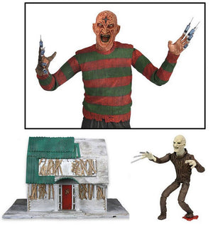 Nightmare On Elm Street 3 Dream Warriors Action Figure Ultimate Freddy 18 cm