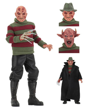 A NIGHTMARE ON ELM STREET NEW NIGHTMARE FREDDY KRUEGER RETRO ACTION FIGURE