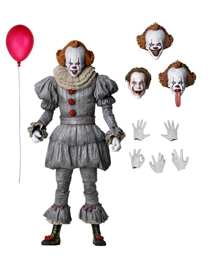 "IT CHAPTER TWO PENNYWISE ULTIMATE 7"" ACTION FIGURE"