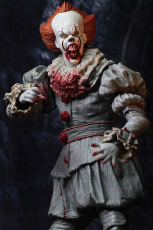 Stephen King's It 2017 Action Figure Ultimate Pennywise (I Heart Derry) 18 cm