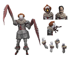 IT 2017 PENNYWISE (DANCING CLOWN) ULTIMATE ACTION FIGURE