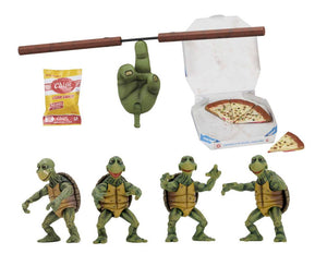 TEENAGE MUTANT NINGA TURTLES BABY TURTLES 1/4 SCALE ACTION FIGURE SET OF 4